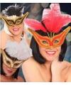 Oogmaskers voor een gala feest