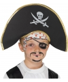 Kinder piraten hoedjes